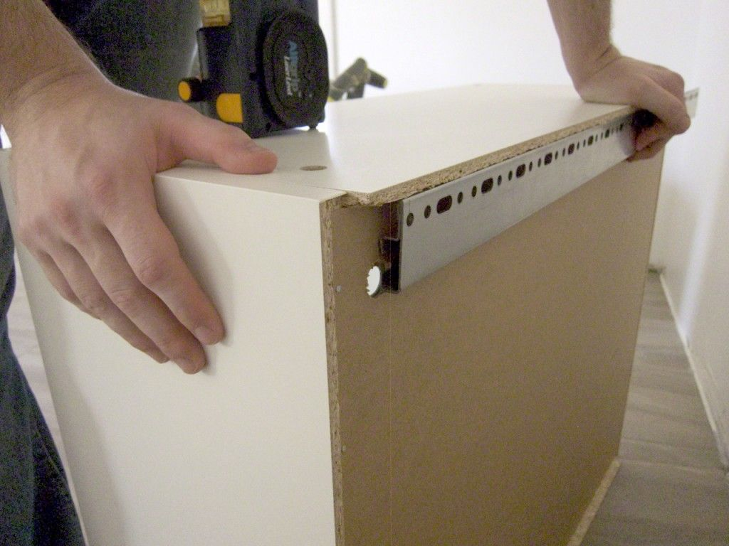 How To Install Ikea Kitchen Cabinets Kitchen Renovation: DIY Installation: IKEA Adel Cabinets
