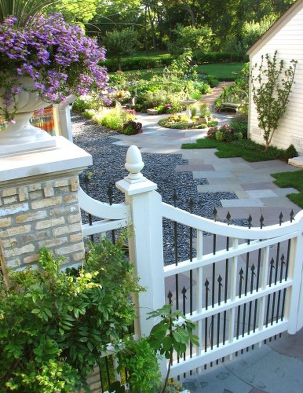 cool 99 totally inspiring front yard fence remodel ideas more at rh pinterest co uk