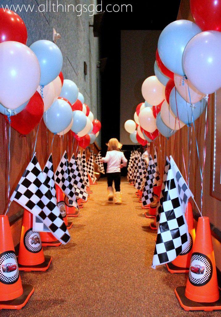 Cars Theme Birthday Party Dcor Ideas Cars