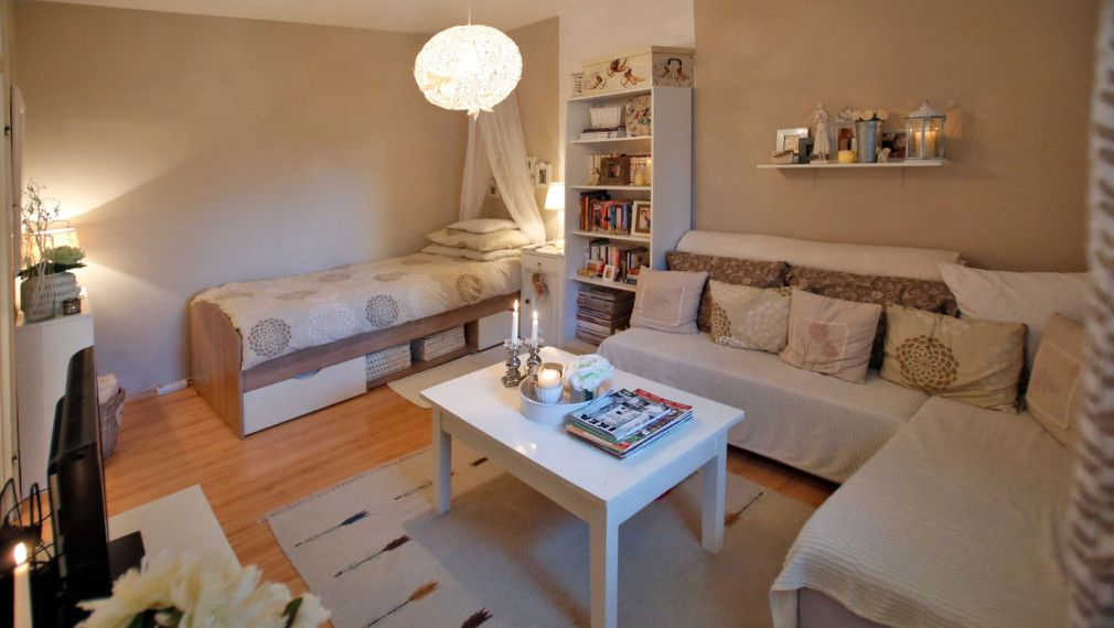 30 sqm apartment beautifully designed on a