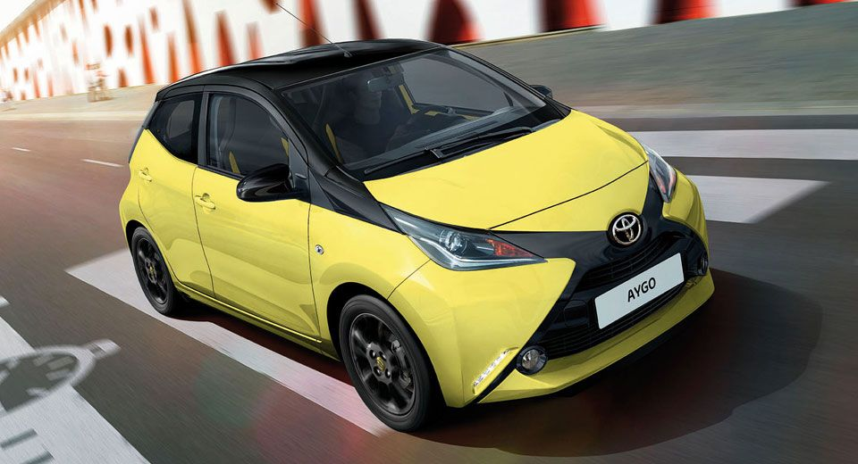 Toyota Does Its Best To X Cite Italy With Aygo Yellow Edition