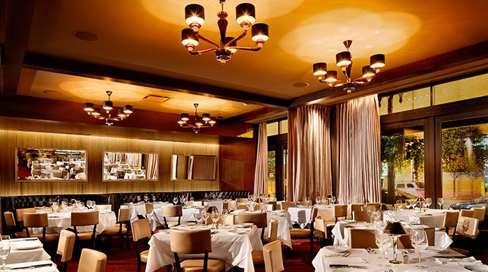 Chicago Restaurants With Private Dining Rooms Mesmerizing Luxury Restaurant Mastro's Steakhouse In Chicago Chose Decorating Design