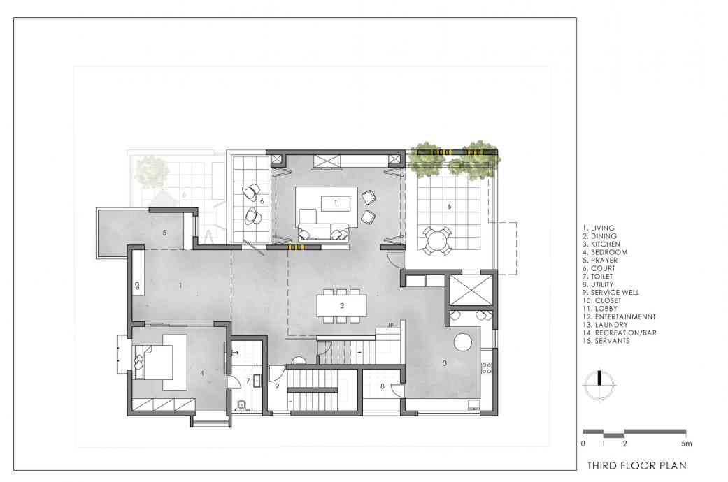 Never Apart Ment Spacefiction Studio Arch2o Com In 2020 Apartment Architecture Floor Plans Concrete House