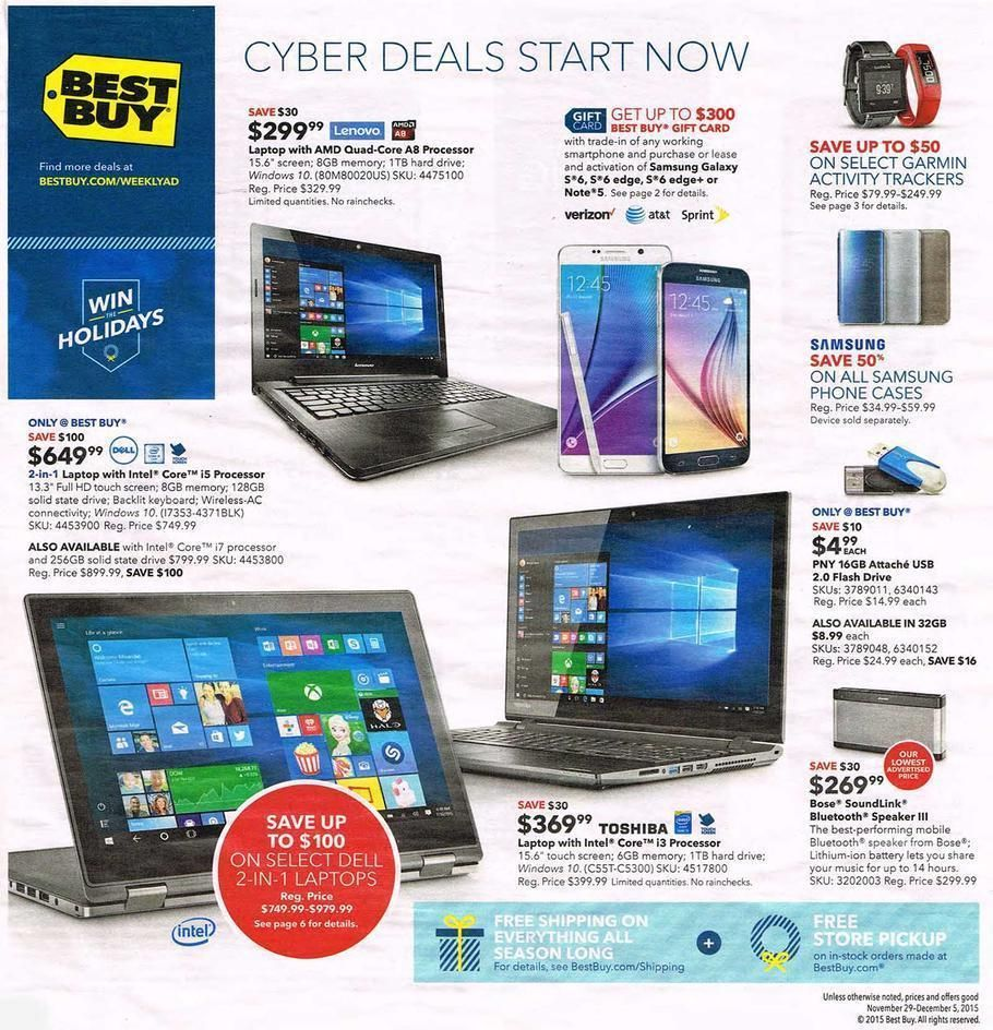 Best Buy Cyber Monday Deals List With Links Pinching Your Pennies Cool Things To Buy Cyber Monday Deals Weekly Ads