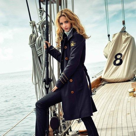 Gaastra Coat Garboard Navy Original Monty Sailor
