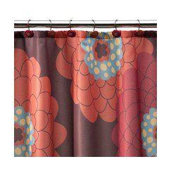 Stella Shower Curtain 70x71 Target CurtainsRed