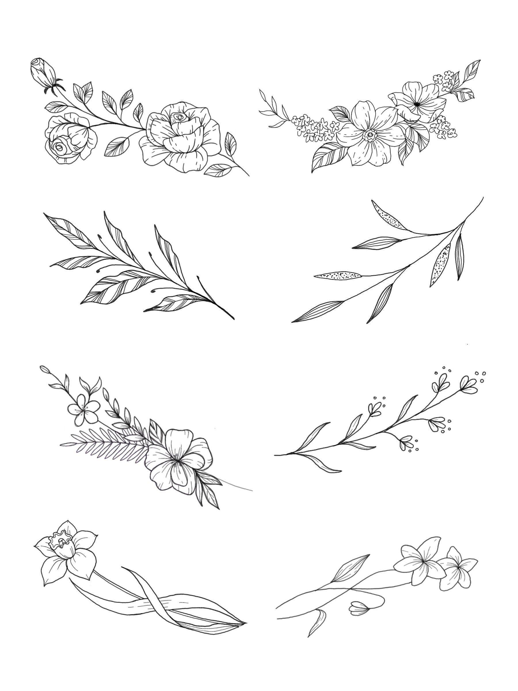 Custom tattoo design Tiny flower tattoo collarbone