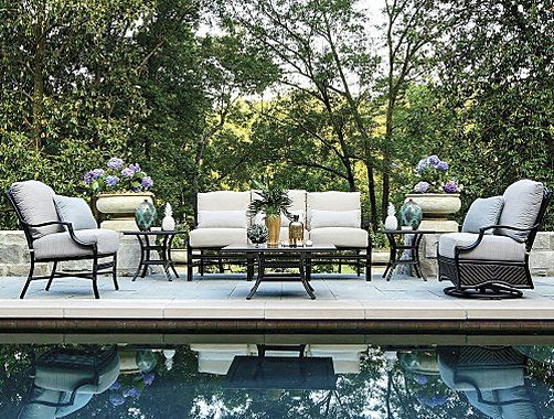 frontgate summer classics st croix outdoor furniture collection rh pinterest com