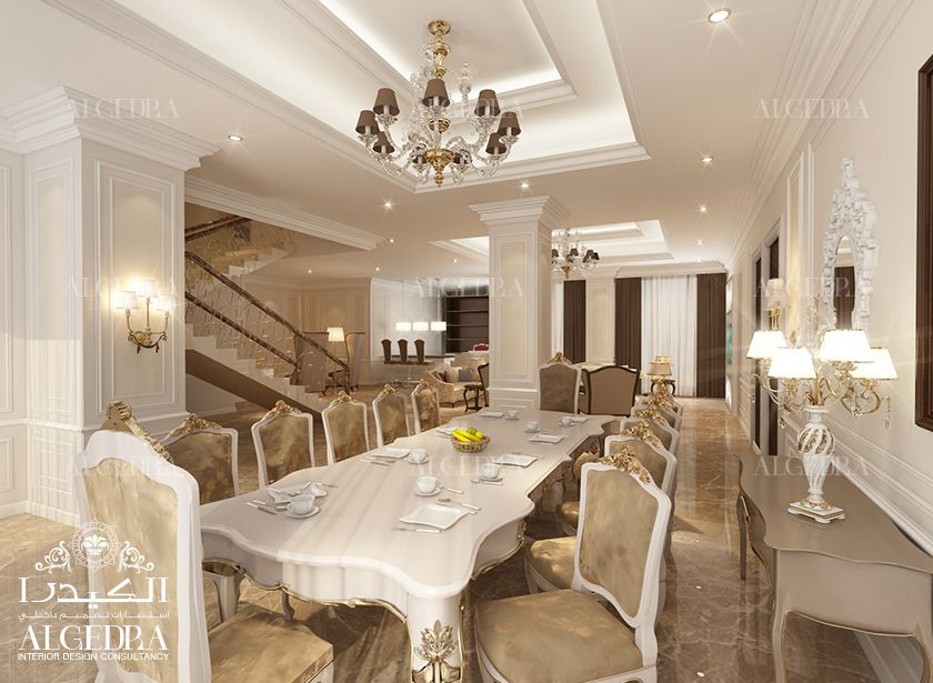 Villa Dining Room Design Photos by Algedra