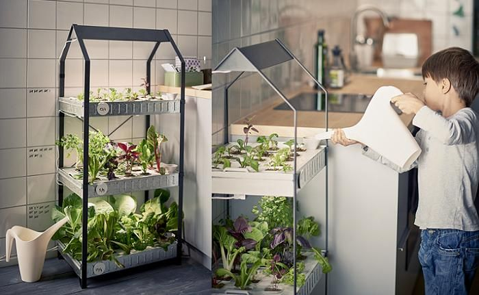 Indoor gardening ikea huerto casero huerto ecologico - Huertos urbanos ikea ...