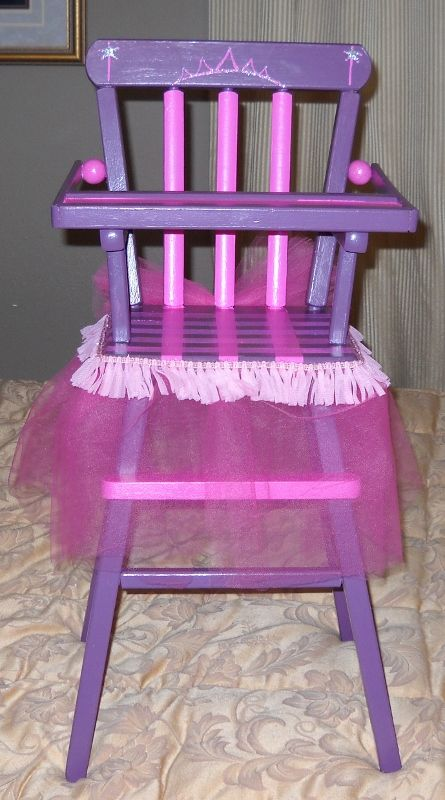 Dolly Highchair Pate Would Love This Doll High Chair Diy Baby Stuff Bedroom Crafts