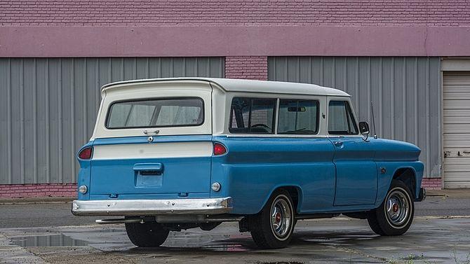 1966 Chevrolet Suburban Carryall 350 Ci Automatic Chevrolet
