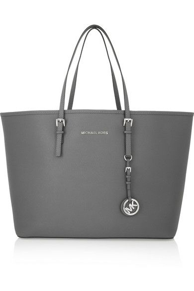 105a62ec0a4e Im obsessed with gray and black clothes anyways so this is perfect for fall  and winter. MICHAEL Michael Kors Tote ...