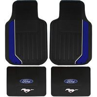 2013 14 Shelby Gt500 4pc Black Floor Mats W Cobra Gt 500 Logo