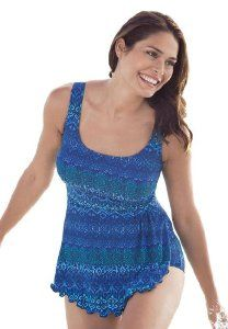 ce91cd0b0f1 Delta Burke Plus Size Swimsuit In Sarong Style From Options Only $67.17 at  Your-Online-Fashion.com
