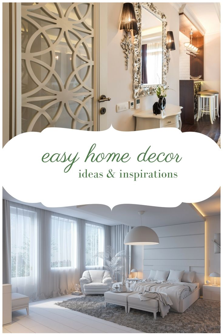 Easy Home Decor Creative Ideas - Taking These Simple Interior ...