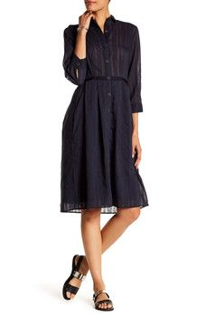 ATM Anthony Thomas Melillo - Stripe Shirtdress