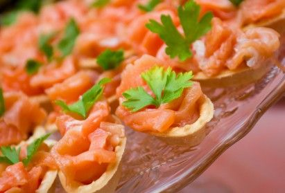 cold finger food ideas smoked salmon savoury boats party foods rh pinterest com