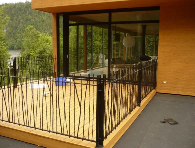 25 best ideas about garde corps exterieur on pinterest for Balustrade acier exterieur