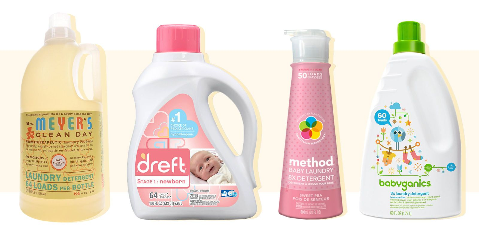 11 Gentle Laundry Detergents Best For Your Baby S Clothes Baby