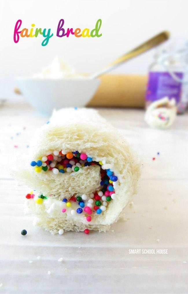 How to Make Fairy Bread #fairybread #fairy #sprinkles