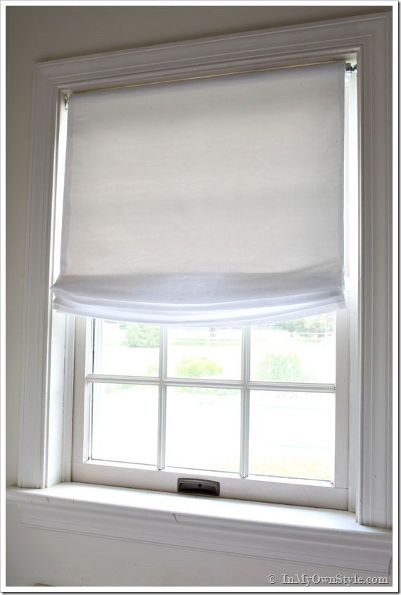 Do It Yourself Window Treatments: No Sew Affordable DIY !!! Restoration-Hardware-Knockoff