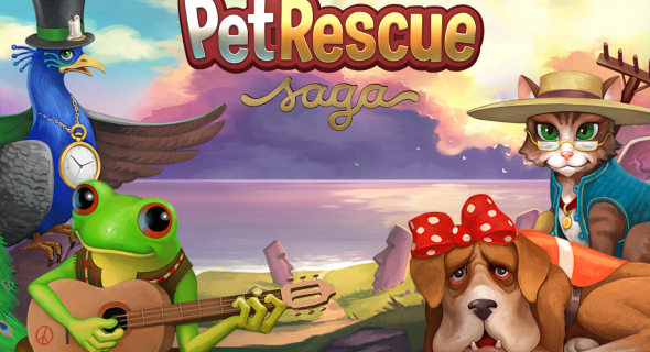 Pet Rescue Saga Jeton Hilesi 2014 Mobil oyun ve program