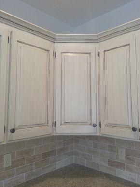 Marvelous Staining Oak Cabinets White Light Oak