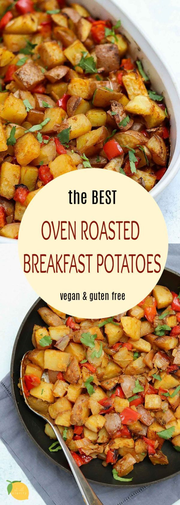 Easy and delicious, these vegan roasted breakfast potatoes are the perfect recipe for your weekend morning brunch!