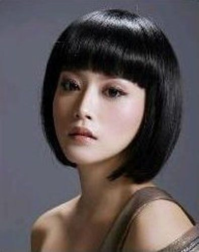 different haircuts bob style black bangs synthesis 2428