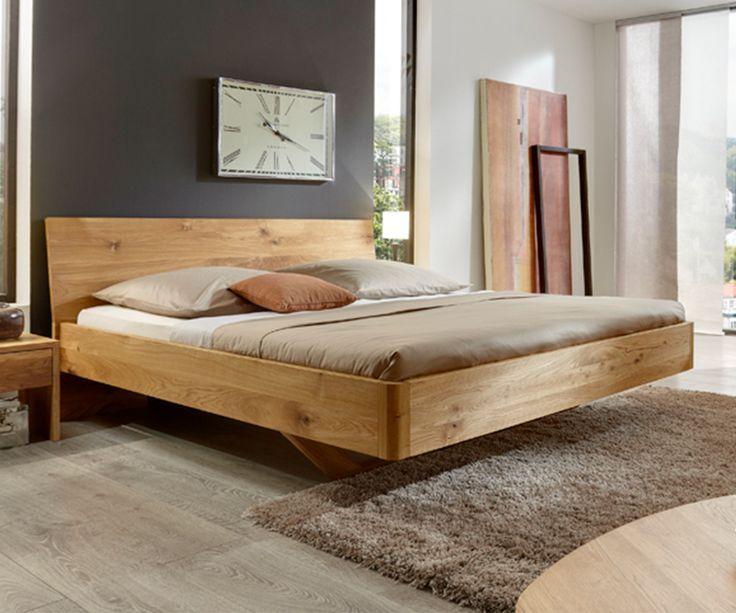 Hochwertiges Bett Aus Robuster Eiche Bett Vita Holzbett Bedroom Eiche Massi Bett Eiche Bett Massivholz Bett Selber Bauen