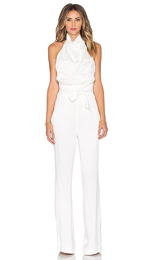 Shop for Misha Collection Delia Jumpsuit in Milk at REVOLVE. Free 2-3 day  shipping and returns e62a9c6787d0