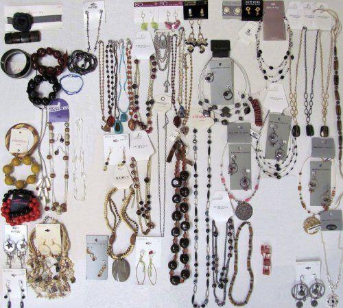76 Below Wholesale Jewelry Lot Costume Fashion Mixed NEW ...