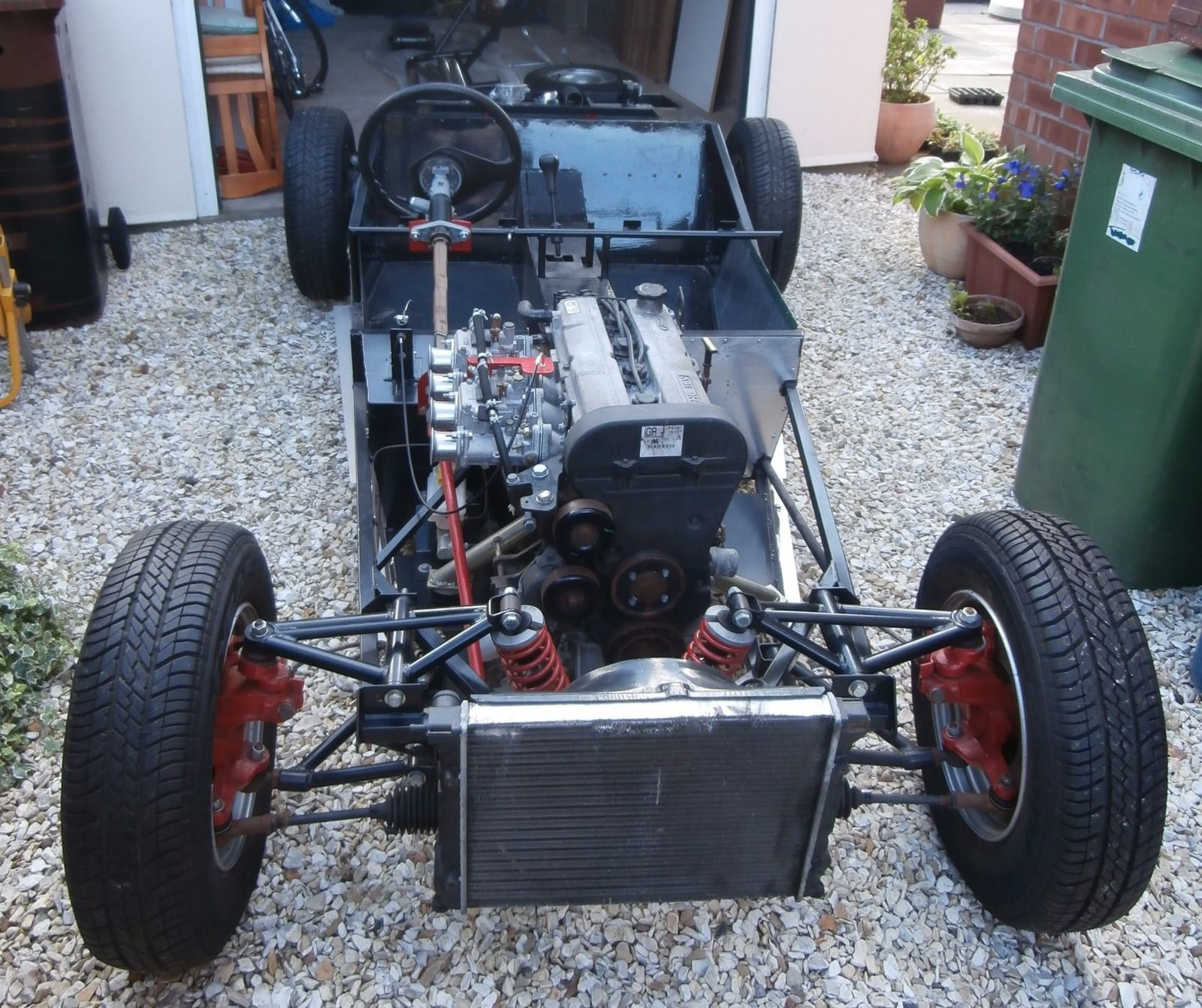 Fisher Fury Chassis - Unfinished Kit Car Project | Pinterest | Kit ...