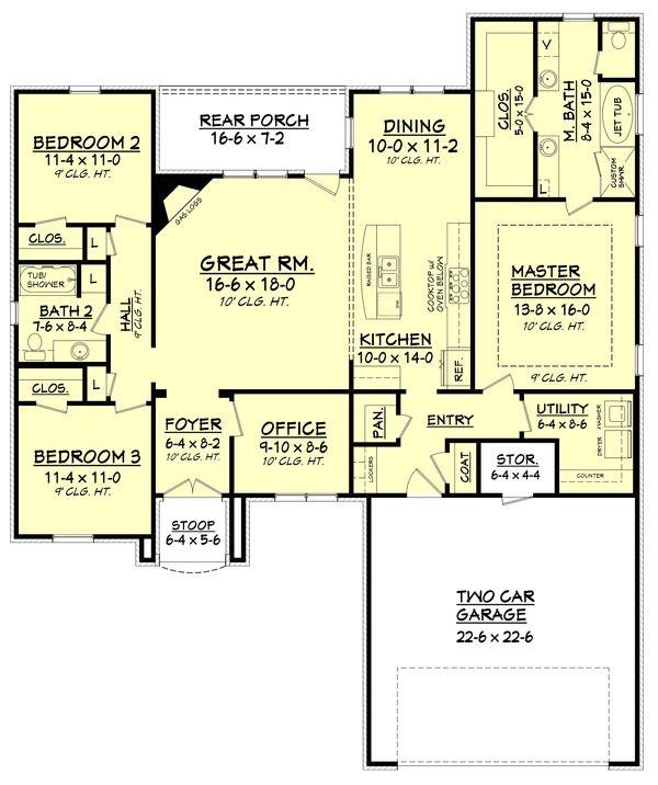 Plan 430 122 Houseplans Com Our Home House Plans