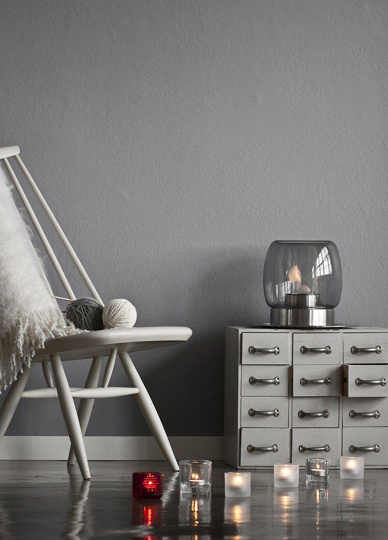 Table-top bioethanol #fireplace KAASA by iittala | design Ilkka Suppanen @iittalaofficial