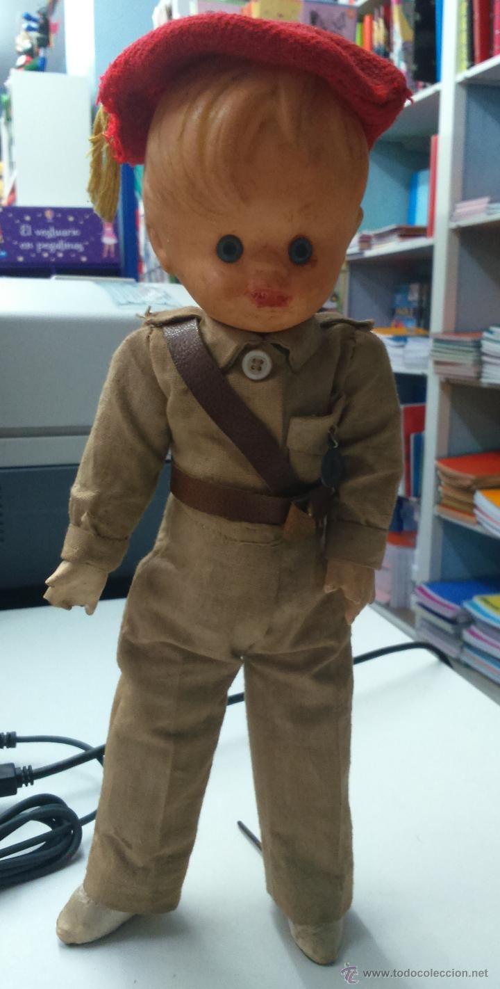 Antiguo muñeco de chico con uniforme carlista guerra civil española ...
