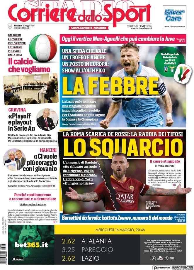 Corriere dello Sport (15 de mayo de 2019) 15 de mayo