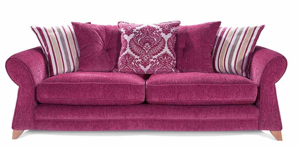Pink Couch Slipcover