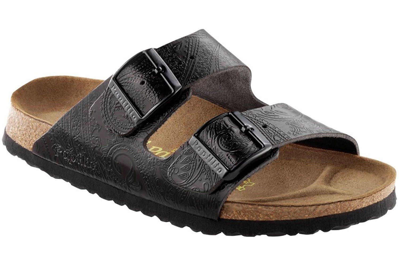 089dad8b23ef4c Birkenstock Arizona Sandal Black Leather Size 41 -- You can get more  details here   Birkenstock sandals