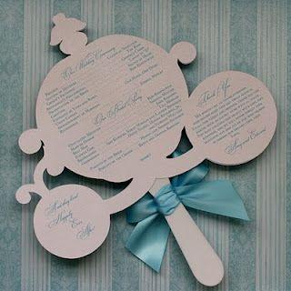 Cinderella Wedding Fan Programs Something Alice In Wonderland Instead For Us