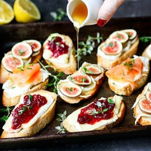 Your book club will love these easy but decadent crostini finger your book club will love these easy but decadent crostini forumfinder Images