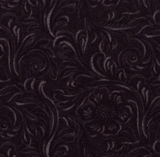 Tooled Leather Black 11216 16 Moda