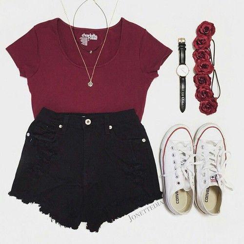 black shorts pinterest