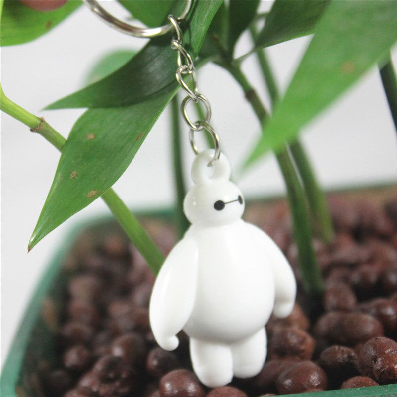 $0.81 (Buy here: http://appdeal.ru/4xuu ) 1 Piece Big Hero 6 Baymax Toys Action Figure White  Key chain Toy Fat Doll dolls For Lover Kids Gifts for just $0.81