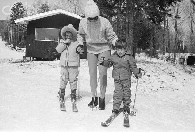 "On a ski trip that Jackie and her children took with Bobby Kennedy and his family, John had fallen on the slopes and started crying, when his uncle Bobby approached him saying, ""Kennedy's don't cry."" John looked him straight in the eye and responded, ""This Kennedy cries."""