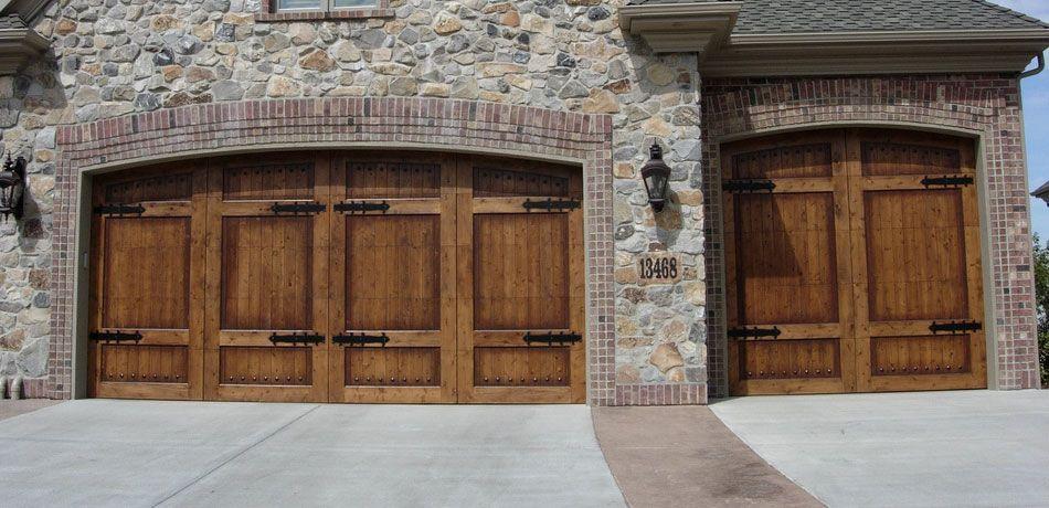 decorative wood doors | Carriage Wooden Garage Doors by Carriage ...
