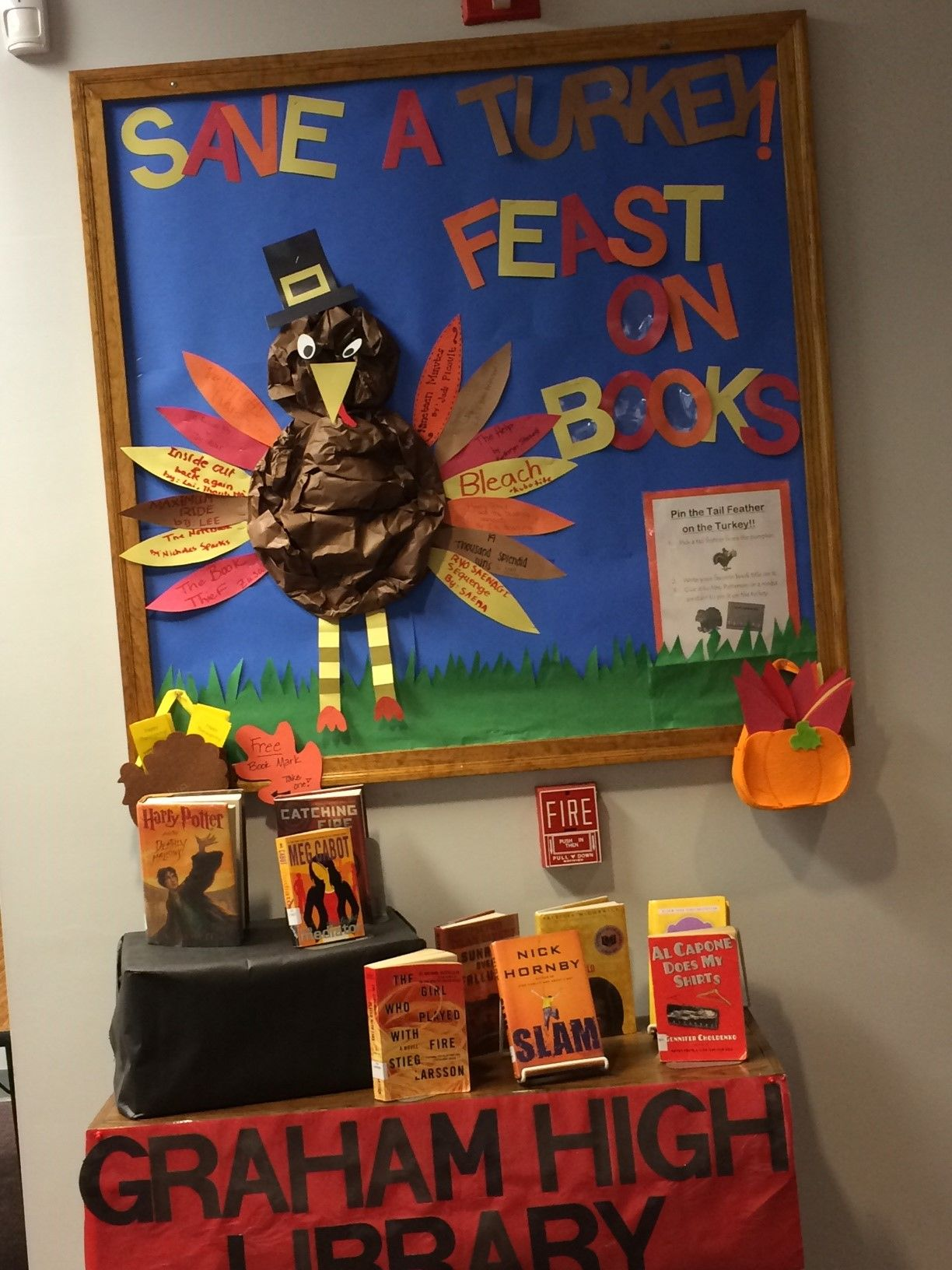 Thanksgiving Bulletin Board Display
