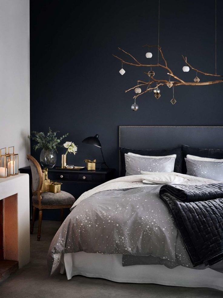 Bettwäsche von H&M Home #schwarzewände