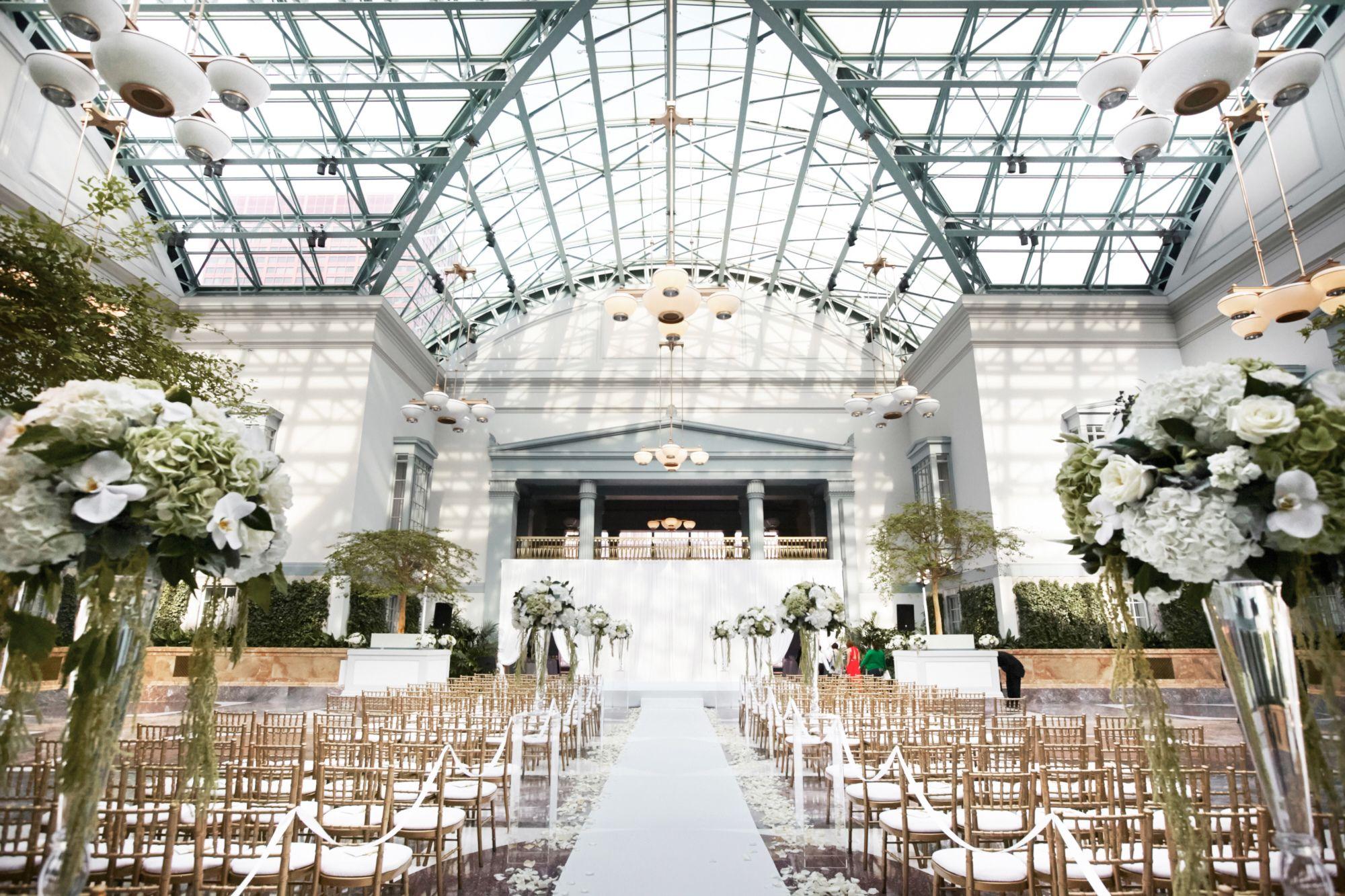 Cheap Wedding Photography Chicago: Harold Washington Library Wedding Ceremony